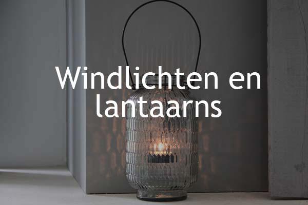 windlichten en lantaarns | Woonaccessoires